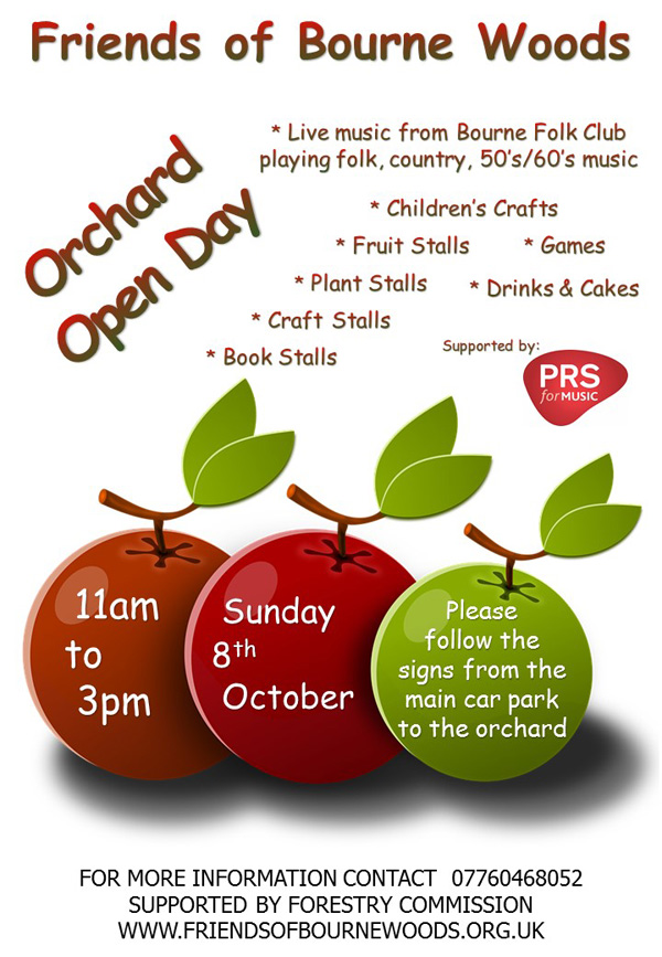 orchard open day poster