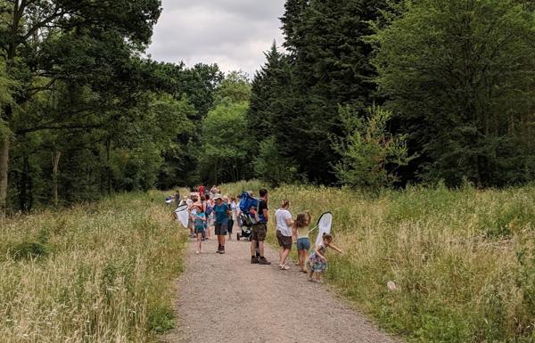 group on bug hunt bourne wood