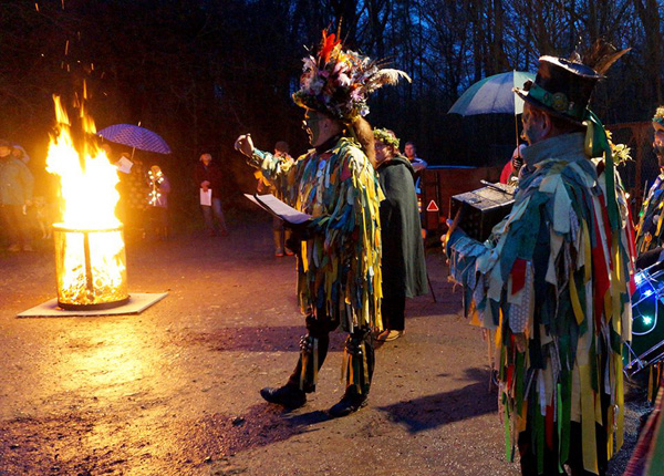 bourne wood wassailing