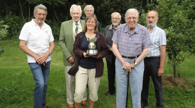Rotary Club of Bourne of the Rose Bowl Award